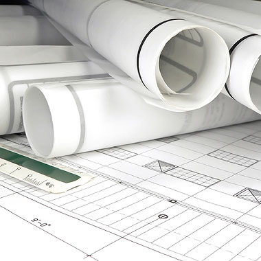 stock-photo-2317274-rolled-blueprints